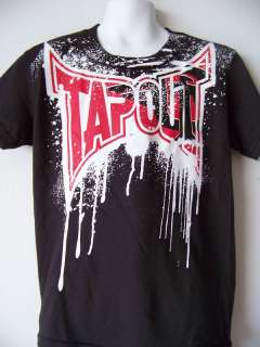 TAPOUT KIDS 4 S SMALL T SHIRT UFC MMA WRESTLING NEW
