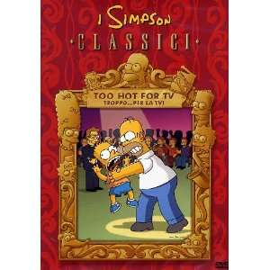 i simpson too hot for tv * (Dvd) Italian Import