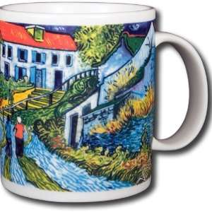 Vincent Van Gogh   Steps At Auvers 14oz Coffee Mug