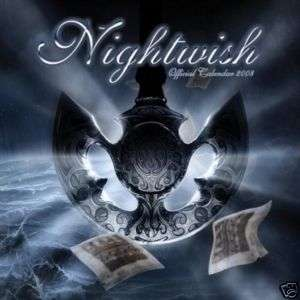 NIGHTWISH 2008 OFFICIAL CALENDAR GOTHIC FANTASY ART