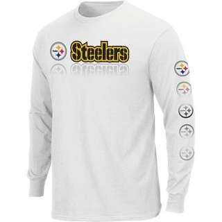 2d7d0af2c Pittsburgh Steelers Dual Threat Long Sleeve T Shirt on PopScreen