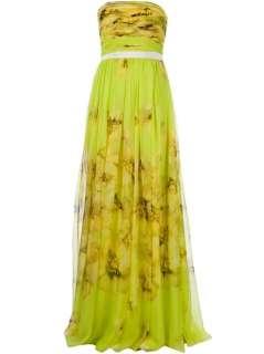 Giambattista Valli Floral Strapless Maxi Dress   L'Eclaireur