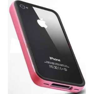 Chivel Black Pink Protector Bumper Case Cover for AT&T