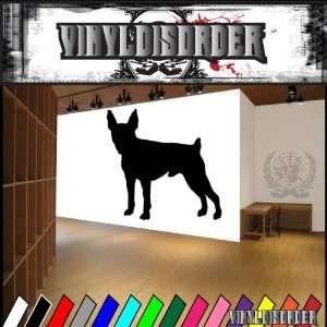Dogs companion toy fox terrier Vinyl Decal Wall Art