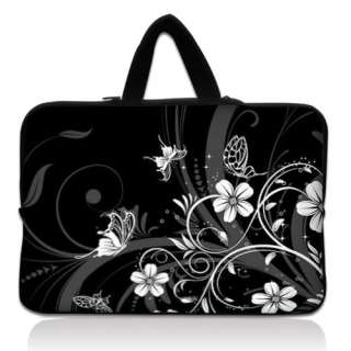 Laptop Sleeve Bag Carry Case Cover +Hide Handle For 15 15.6 HP