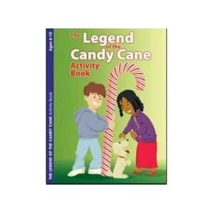 The Legend of the Candy Cane E4683   Activity Book