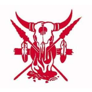 Red TRIBAL FIRE GRAPHIC Vinyl Sticker/Decal Everything