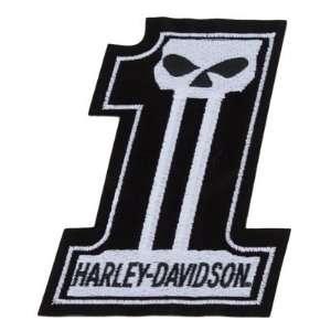 #1 Skull   Large   Harley Davidson: Automotive