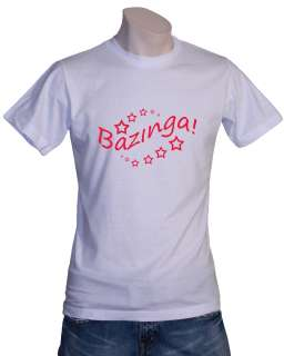 Big Bang Theory Bazinga Fun Shirt Sheldon Cooper