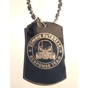 Gas Mask Logo Symbols   Military Dog Tag Luggage Tag Key Chain Metal