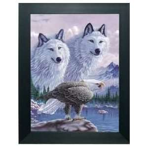 3D Eagle & Wolf Picture frame Min set of any 2pcs: Home