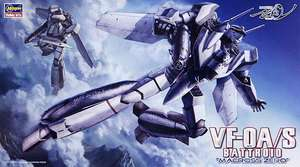 Macross 20 VF 0 A/S BATTROID MACROSS ZERO 1/72 scale kit