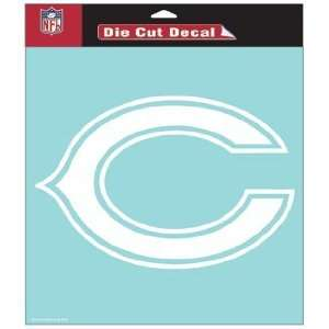 NFL Chicago Bears 8 X 8 Die Cut Decal