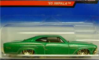 1965 CHEVY IMPALA PINSTRIPE POWER HOT WHEELS 164