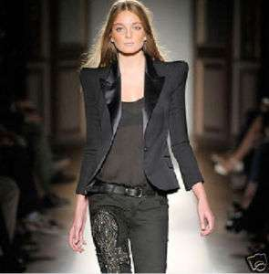 PS11 powershoulder jacket blazer balmai tuxedo runway