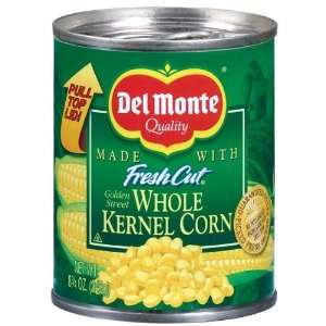 Del Monte Corn Whole Kernel Golden Sweet   12 Pack