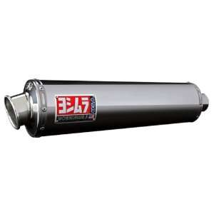 Yoshimura RS 3 Polished Stainless Steel Oval Slip On Exhaust System