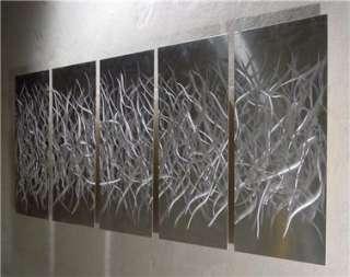 64 ABSTRACT METAL CONTEMPORARY MODERN ART WALL DECOR