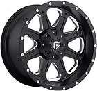17x9 Black Wheel Fuel Boost 8x6.5