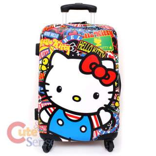 Sanrio Hello Kitty Luggage Suit Case 20in Loungefly 5
