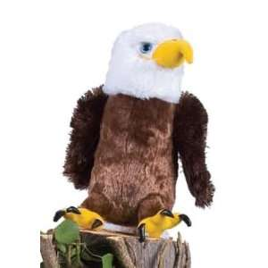 North American Wildlife Bald Eagle 10in Plush Toy Toys & Games