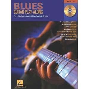 Hal Leonard Blues Guitar Play Along Series Volume 7 Book