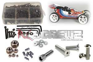 scale FG Baja 4WD Stainless Steel Screw kit fg012