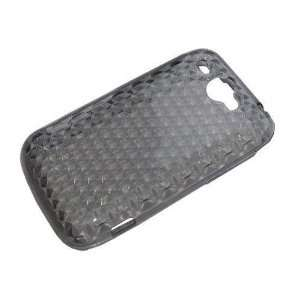 Modern Tech Black Gel Skin/ Case for HTC Wildfire Cell
