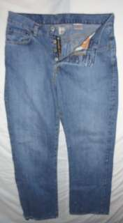 Lucky Brand Womens Button Fly Jeans Size 10/30 (32x31)