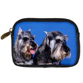 SCHNAUZER DOG PUPPIES DIGITAL CAMERA BAG ACCESSORIES