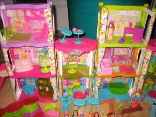 lot polly pockets apartment disney princess dolls clothes mall search
