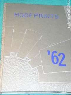 1962 Stephen F. Austin Jr High school yearbook annual y