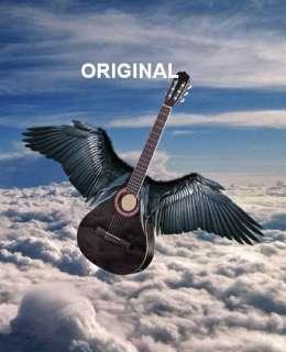 Air Guitar Cross Stitch Pattern Musical Instrument
