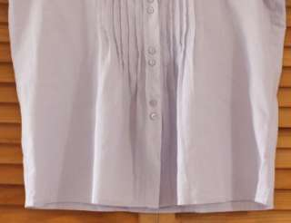 NEW EILEEN FISHER AIRY COTTON MOMEN SHIRT TOP PS $188