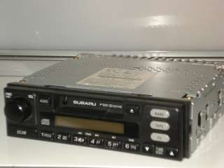Subaru AM/FM Cassette Factory Car Radio Stereo Model Number