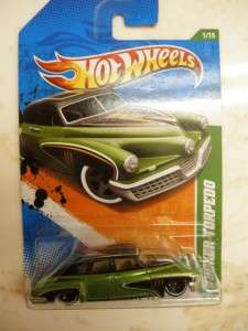 Hot Wheels 2012 2011 Treasure Hunt Ford GT Tucker 62 Chevy Grand