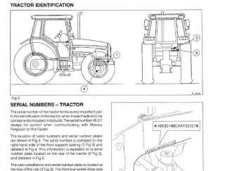 MASSEY FERGUSON TRACTORS 4200 MF4255 MF4260 MF4263 MF4270 SHOP SERVICE