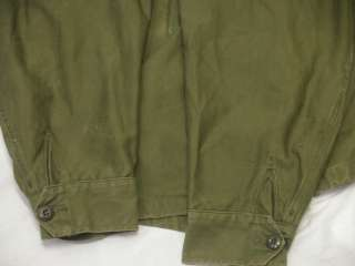 Vietnam Era M 65 M 1951 Stenciled Military Combat Army Field Jacket S