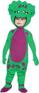 Toddler Barney Dinosaur Baby Bop Halloween Costume 1 2t