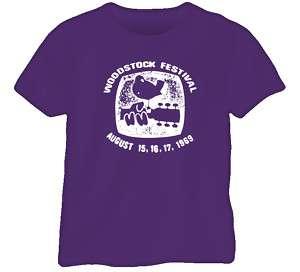 Woodstock Festival 1969 Retro Classic T Shirt