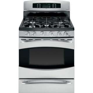Profile 30 in. Self Cleaning Freestanding Dual Fuel Convection Range