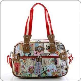 Pip Studio Tasche   Collage Sportsbag   PB120BE  Bekleidung
