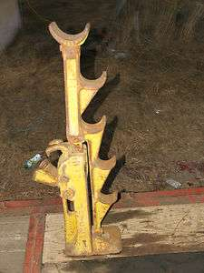 Old Vintage Antique JOYCE 10 tons MECHANICAL RATCHET JACK WORKS GOOD