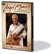 Angel Romero The Art Of Classical Guitar DVD NEW