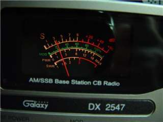 GALAXY DX 2547,40 CH CB RADIO BASE STATION,CHRISTMAS SALE NICE GIFT