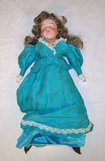 Old Bisque Armand Marseille 370 German porcelain doll 21 glass eyes