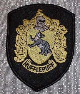 HARRY POTTER House of HUFFLEPUFF Robe Logo PATCH