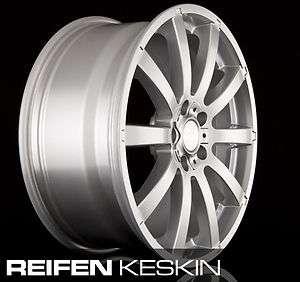 NEU 18 MAM W3 Silber Alufelgen Audi A3 A4 A6 Seat Leon Skoda VW