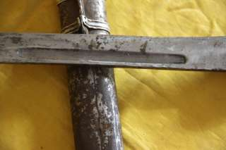 Name Wonderful Real Old Antique Tibetan Folk Knife Sword  High