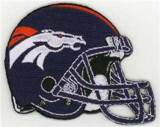 Denver Broncos Patch Iron On Helmet NFL AFC TOP QUALITY